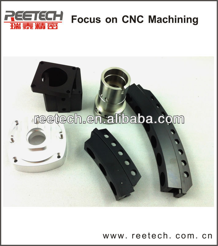Shenzhen China aluminium alloy precision CNC machining components