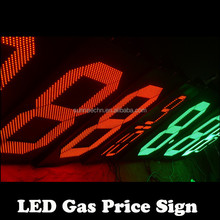 "customization definition led gas :Shenzhen Alibaba Express 18"" Single Color Led Gas Price Sign"