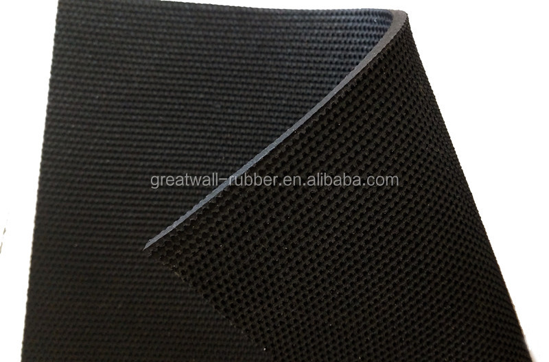 General Used Cloth Impression SBR EPDM SILICONE Rubber Sheets Rolls