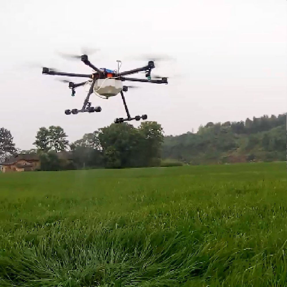 High efficiency farm machinery equipment 10L agriculture UVA spray drone