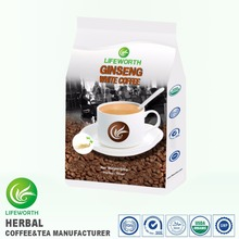Lifeworth GMP certified manufacturer malaysia instant white ginseng coffee powder