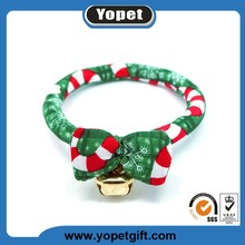 Best Selling Products Custom Pet Dog Collar Fashion Cotton Christmas Pet Gift for Puppy Dog Cat Collars