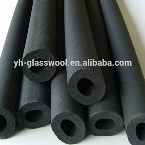 Closed cell thermal insulation rubber tube /rubber pipe insulation