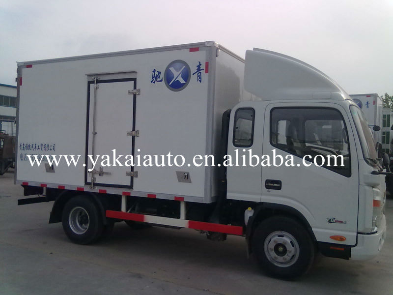Dry and cooling trucks and vans bodywork