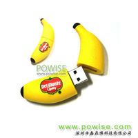 2013Powise-create your own usb flash drive-the best choice usb flash memory/banana USB keys