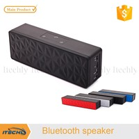 2015 mini rider portable bluetooth speakers with recording and fm radio for teacher and tour guide