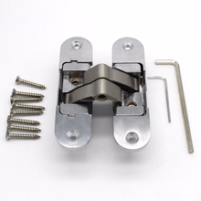 30*110mm stainless steel concealed hinge 3d adjustable hinge for wooden door