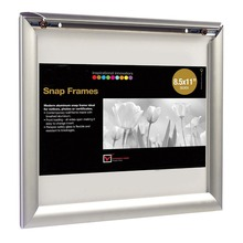 Front Load Easy Open Aluminum Snap Poster Frame