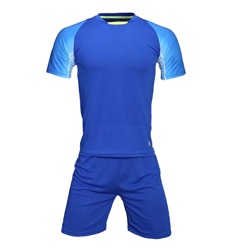 Top Quality Round Collar Training Soccer Jersey