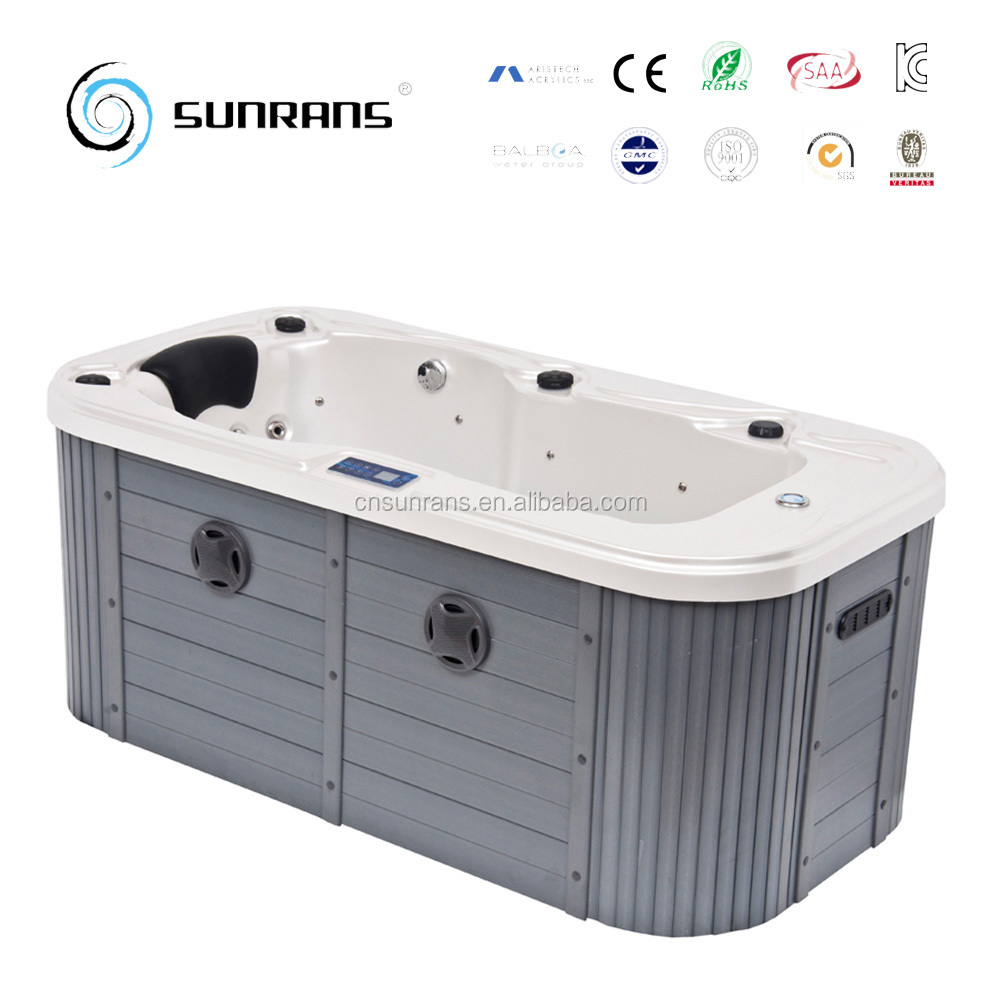 Small tub size mini indoor whirlpool hot tubs with massage for Small bathroom hot tub