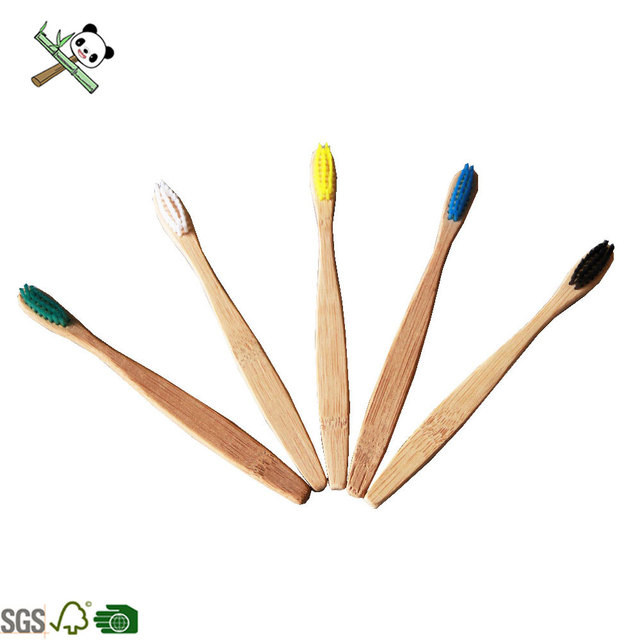 100% biodegradable charcoal wholesale cheap bamboo toothbrush for kids and adults