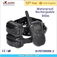 300m Remote Control Bark Stop LCD Dog beeper Training Collar