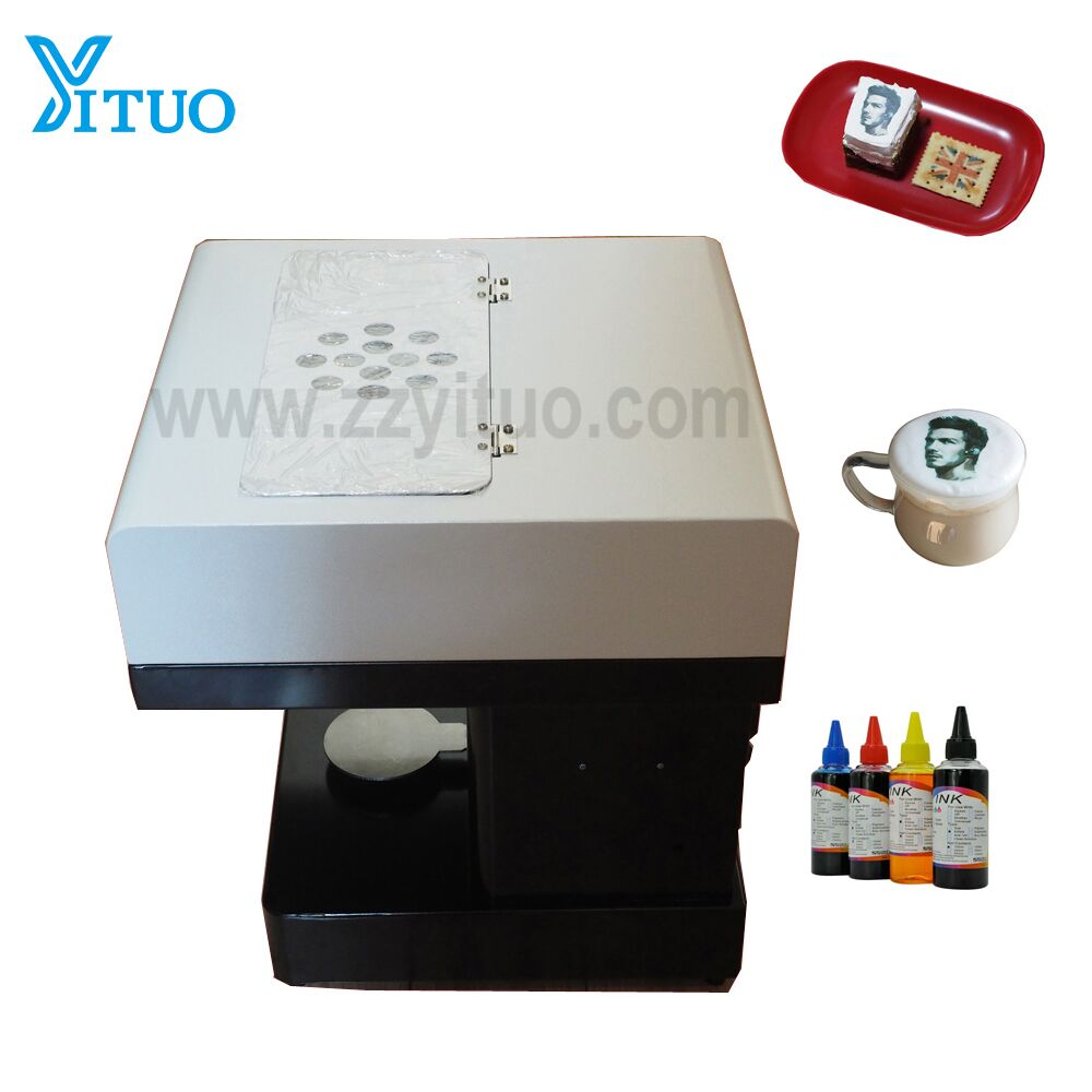2018 Popular Easy Operation Selfie Coffee Printer with High Quality