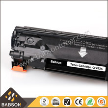Office consumables laser printer for HP M125 M127fn for CF283A 83A compatible toner cartridge