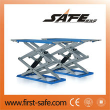 3T Auto hoist in-ground scissor car lifter with CE
