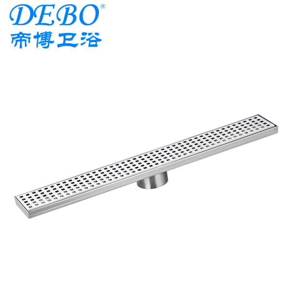 easy cleaning vertical outlet linear shower drain