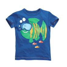 2017 china Manufacturers OEM printed new arrival t shirt for baby boy