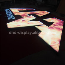 New design LED Channel Letter Sign-Surface illuminated Paint Sheet Metal Side Outdoor Letter with CE certificate