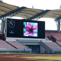 High quality P10 outdoor advertising led display screen prices