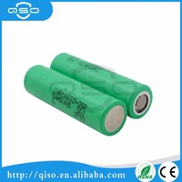 Original cylindrical samsung 18650 25r 2500mAh rechargeable battery with lowest price