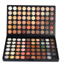 High quality eye makeup palette 120 magic color eyeshadow shimmer color