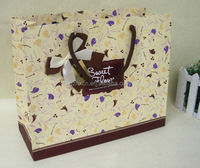 Luxury paper photo frame packaging bag