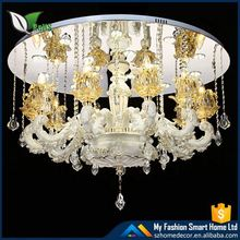 Modern Stairwell Large Crystal Chandelier Pendant Light Big Hotel Glass Chandeliers Hanging Lamp Lighting CZ3010/16+10+6