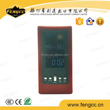 CE Alarm Clock with Weather Station Color Display, LCD Table Clock
