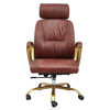 Wholesale PU leather ergonomic office chair with folding arm