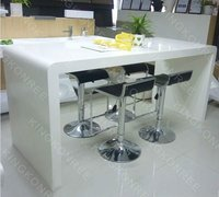 new style white bar tabletop kitchen counters
