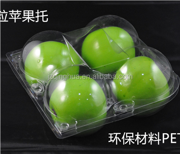 Good quality disposable plastic fruit container clamshell blister