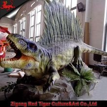 life size animatronic dinosaur statue outdoor for sale