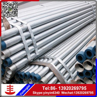 hot galvanized flexible pipe/galvanized pipe size chart/steel tubing building materials