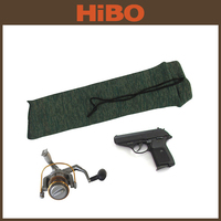 Tourbon Hunting Gun Accessories Tactical Nylon Knitting Gun Cover/pistol/fishing reel sock