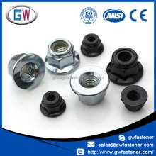 Discount price m12 m16 m20 m30 hex flange nut