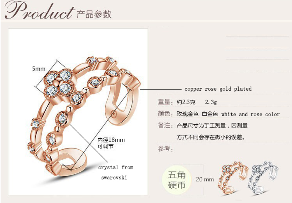 Factory price rings jewelry women silver