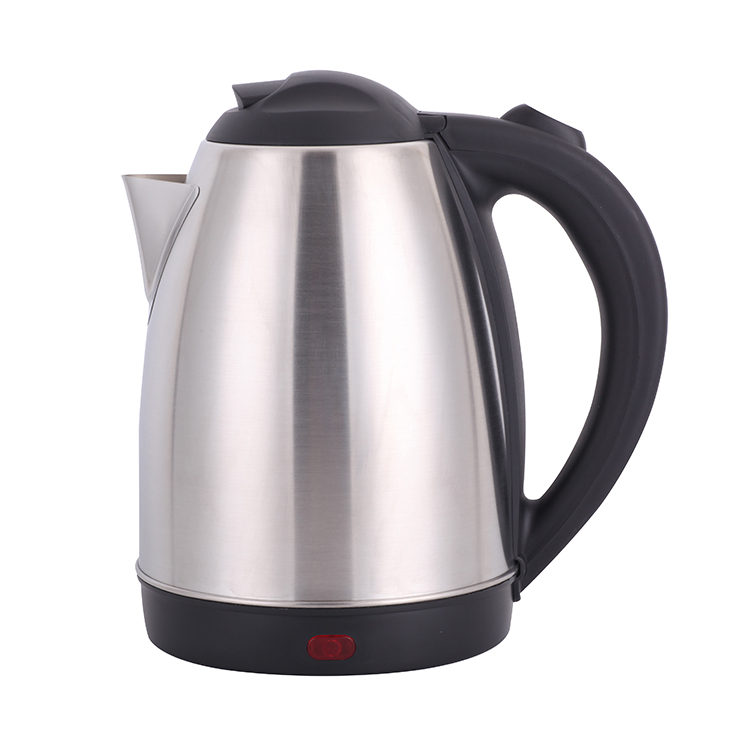 Daily use Stainless Steel Electric Tea Kettle Tray Set 2.0L