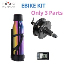 electric Bicycle Motor Kit E-Bike Conversion Kit Simple HOME MADE EBike Cool Change Kit