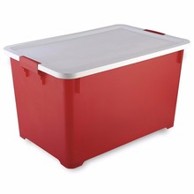 Hot waterproof tightness clothes plastic storage boxes for wholesale