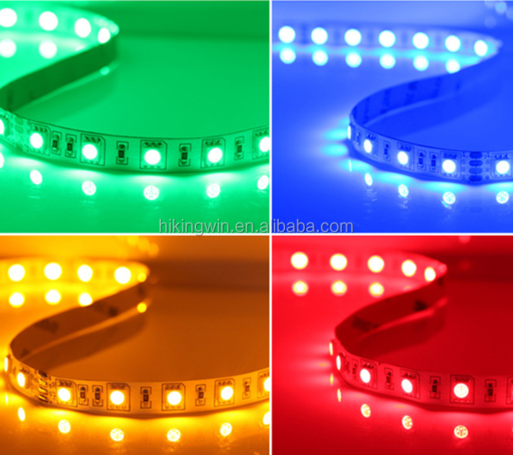 Waterproof smd 2835 5050 ip20 ip68 flexible addressable rgb led strip 24v