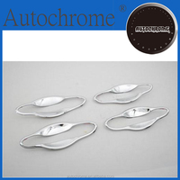 Factory price car auto exterior accessories car parts hyundai sonata i45, chrome door cavity cover