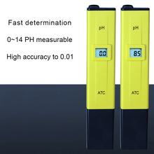 Hot sale 0.1ph accuracy waterproof pen type digital ph water quality tester meter for drinking