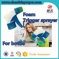 Hot sale 28 410 china supply foam trigger sprayer cleaning pump in an color for clean home and kitchen can be custom