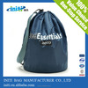 2015 Wholesale Eco friendly China 100% biodegradable clear vinyl drawstring bag