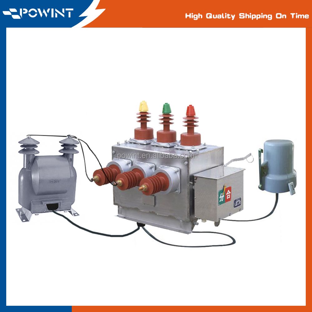Design and Manufacture HV Outdoor Vacuum Circuit Breaker