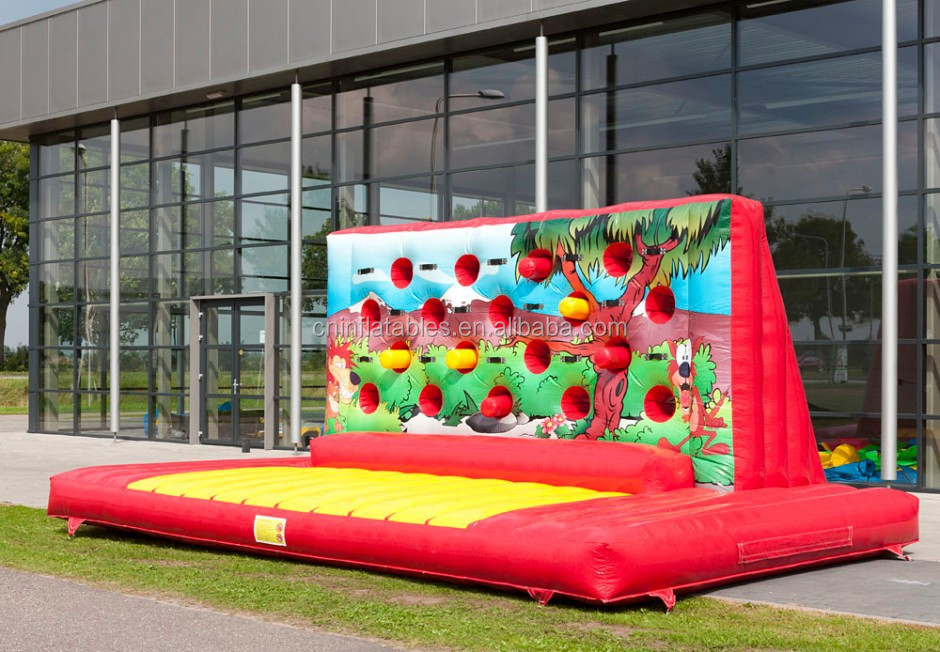 hot sale inflatable inflatable boxing wall,inflatable interactive game for sale