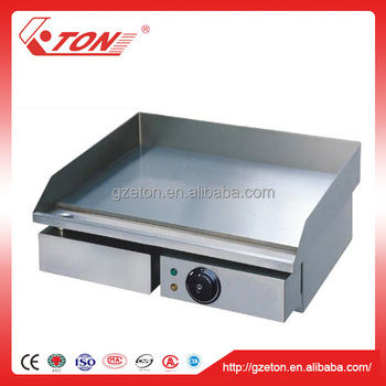 CE Certificated Electric BBQ Griddle Plate