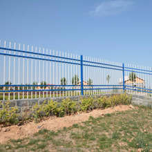 PVC Coated Zinc Steel Ornamental Iron Tubular Fence in Garden,Home,Factory, School