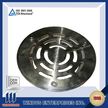 customized floor drain bathroom stainless steel drain cover metal drain covers