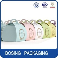 Cup cake small paper packaging box